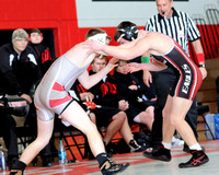 High School Wrestling Zack Shaw and Trevor Hatfield