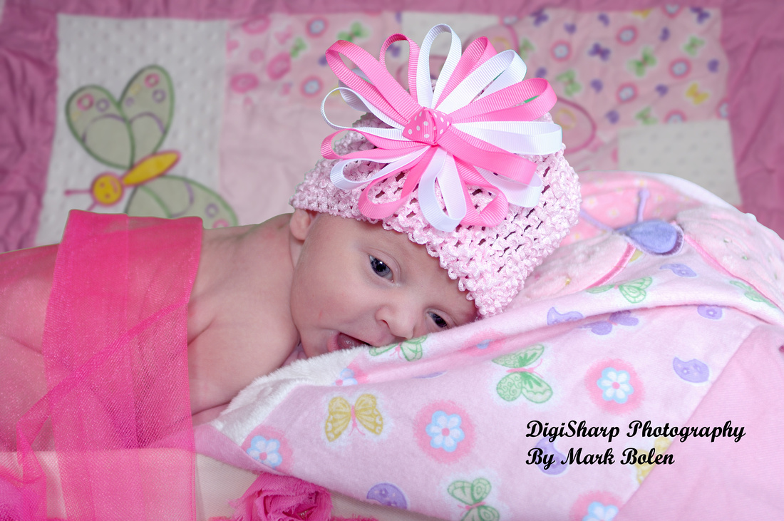 Newborn Portrait Photography in Linden MI