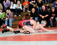 High School Wrestling Between Holly Colton Cleaver and Linden Luke Zimmerman